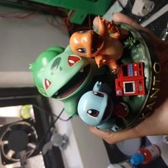 Download 3D printing designs Starter Pokemon Kanto, Alx3D