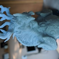 3D print model armored dragon, trajan1990