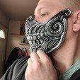 Download 3D printing files Biomechanical Half mask, trajan1990