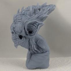 00100dPORTRAIT_00100_BURST20191004095005173_COVER.jpg Télécharger fichier STL Chauve-souris monstre • Design imprimable en 3D, trajan1990