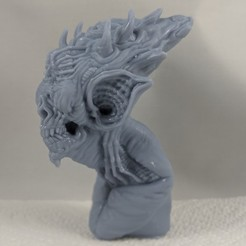 Descargar modelos 3D Murciélago monstruo, trajan1990