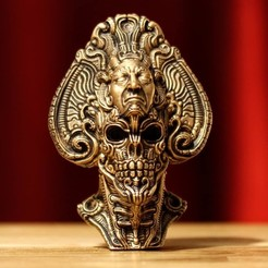 Imprimir en 3D avatar de un emperador muerto, trajan1990