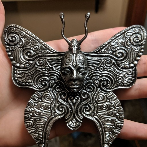 Imprimir en 3D Mariposa ornamentada, trajan1990
