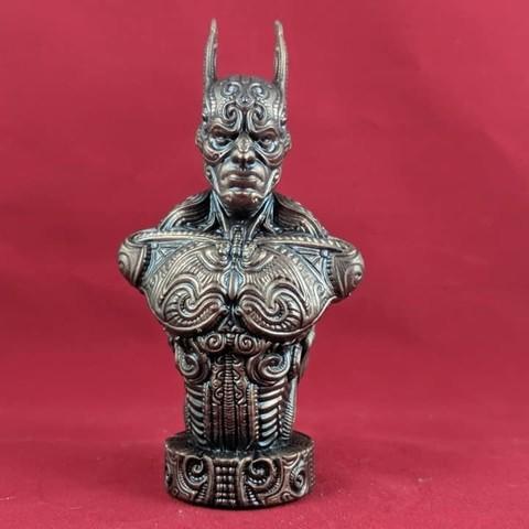 Impresiones 3D Busto de murciélago, trajan1990