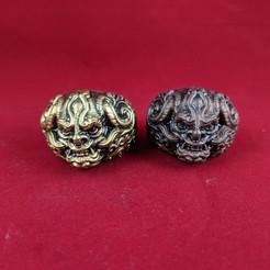 Descargar modelos 3D anillo de oni, trajan1990