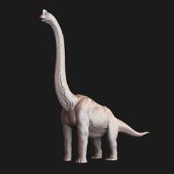 Download 3D printing models Jurassic park Jurassic world Brachiosaurus 3D print model, cristiann_88