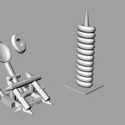 Download 3D printer files BattleDesk Burotica, Axe-one