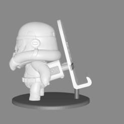 Download 3D printing templates STAR WARS - STORMTROOPER, Talion