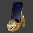 Download 3D printing templates Cell Phone Tigger, Talion