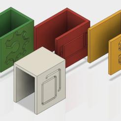 ALEX_Show.PNG Download free STL file IKEA ALEX - Drawer Labels • 3D printer model, jnfink