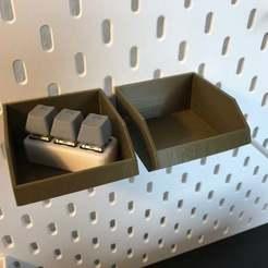 IMG_5338.JPG Download free STL file IKEA Skadis - Part Trays- Big • 3D printer template, jnfink