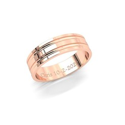 Download 3D printing files Alianza 03_Ali , wedding ring, conferal8