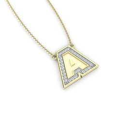 Download STL files Initial Pendant, Letter A, conferal8