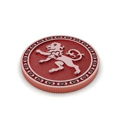 Download STL files Coin Throne Game, Lannister House, conferal8