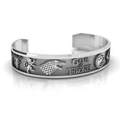 Descargar archivo 3D Brazalete Juego de Tronos, Bracelet Games of Thrones, conferal8