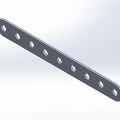 STL files SOLIDWORKS 2018 FLAT BAR and SIMPLE BLOCK, FairEnough