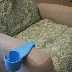 Download STL Sofa Cup Holder, tarekx