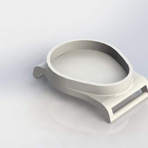 3D printing model RFID Key Tag / Fob Nato Strap Watch, tarekx