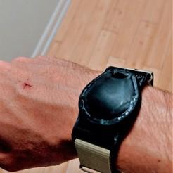 IMG_20190503_205909.jpg Download STL file RFID Key Tag / Fob Nato Strap Watch • 3D printer template, tarekx