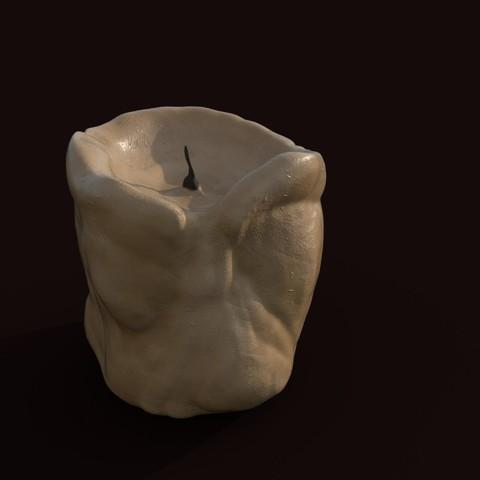 Fichier 3D Bougie de graisse, mahbodez
