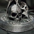 Download free 3D printer model Raven with Skulls, ricky_rait