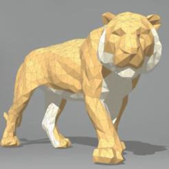 Télécharger fichier 3D gratuit Décoration de la figurine de tigre, alonsoro767