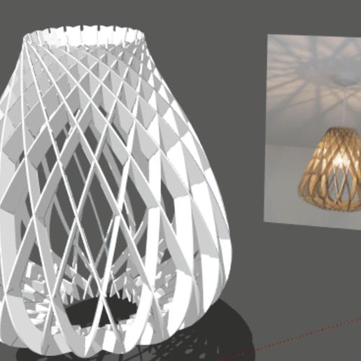 Screenshot_63.png Download free STL file Ceiling light • 3D printing design, alonsoro767