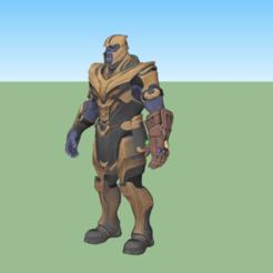 Descargar archivos 3D gratis Thanos , alonsoro767