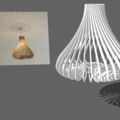 Screenshot_64.png Download free STL file Tulia for ceiling lamp • 3D printer template, alonsoro767
