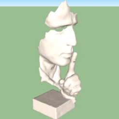 Download free STL file Statue decoration • 3D printer design, alonsoro767