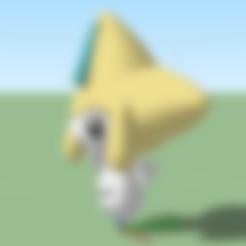 Jirachi.stl Download free STL file figurehead Pokémon • 3D printable design, alonsoro767