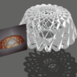 Screenshot_60.png Download free STL file Modern Ceiling Lamp • 3D print template, alonsoro767