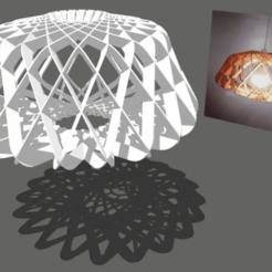 Screenshot_59.png Download free STL file Modern Ceiling Lamp • 3D print template, alonsoro767