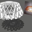 Screenshot_59.png Download free STL file Modern Ceiling Lamp • 3D print template, alonsoro767