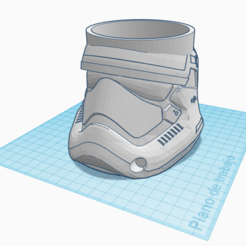 Download 3D printer model Star wars mug, 7punto4