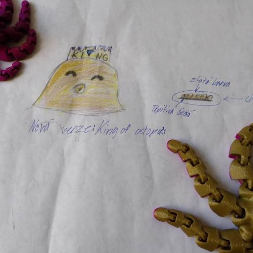 IMG_20190402_181301.jpg Télécharger fichier STL gratuit Le mignon roi des poulpes • Design à imprimer en 3D, paveltajdus