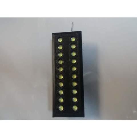 3D print model 5mm LED Holder Indication Mount 20 Channels, Spankys3D