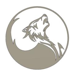 Download 3D printer model Wolf, christianbulgarelli