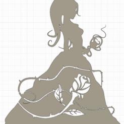 Schermata 2020-09-27 alle 20.05.15.png Télécharger fichier STL La princesse aux roses • Modèle à imprimer en 3D, Chris05