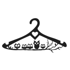 Schermata 2020-11-15 alle 16.17.42.png Download STL file Clothes Hangers Owl • Model to 3D print, Chris05