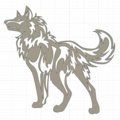 Descargar modelo 3D Wolf, christianbulgarelli