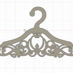 Schermata 2020-10-26 alle 23.13.48.png Télécharger fichier STL Cintres pour vêtements • Modèle pour imprimante 3D, Chris05
