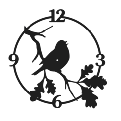 Schermata 2020-11-15 alle 16.44.25.png Télécharger fichier STL Horloge des oiseaux • Plan imprimable en 3D, Chris05