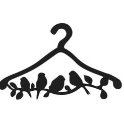 Schermata 2020-11-15 alle 16.05.28.png Télécharger fichier STL Pendentifs à vêtements Oiseaux • Design pour impression 3D, Chris05
