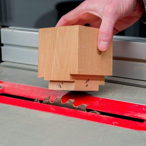 Télécharger modèle 3D gratuit Jauge de hauteur de lame de scie à table rapide - métrique et impérial, HowardB