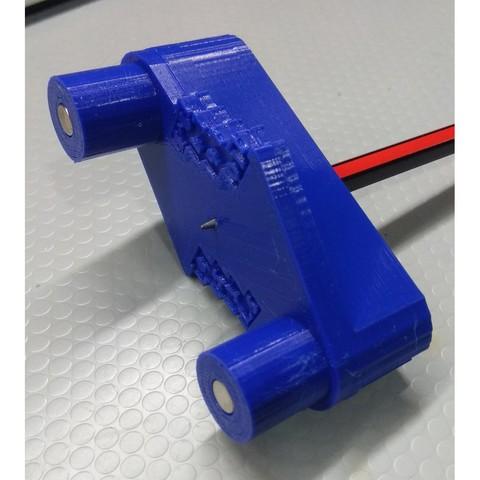 Rockler7.jpg Télécharger fichier STL gratuit Outil de marquage à décalage central de type Rockler (mm métrique) - avec aimants • Design imprimable en 3D, HowardB