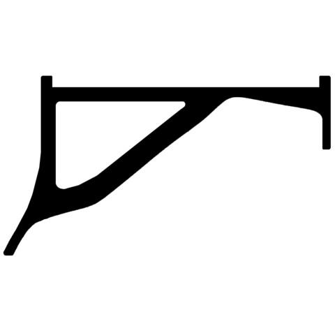Soundbar_sketch.jpg Download free STL file Samsung Soundbar Holders (for Samsung TV) • 3D printing object, HowardB