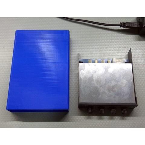 "Fan Controller Box 2.jpg Download free STL file PC Fan Controller Box 3.5"" • 3D printable template, HowardB"