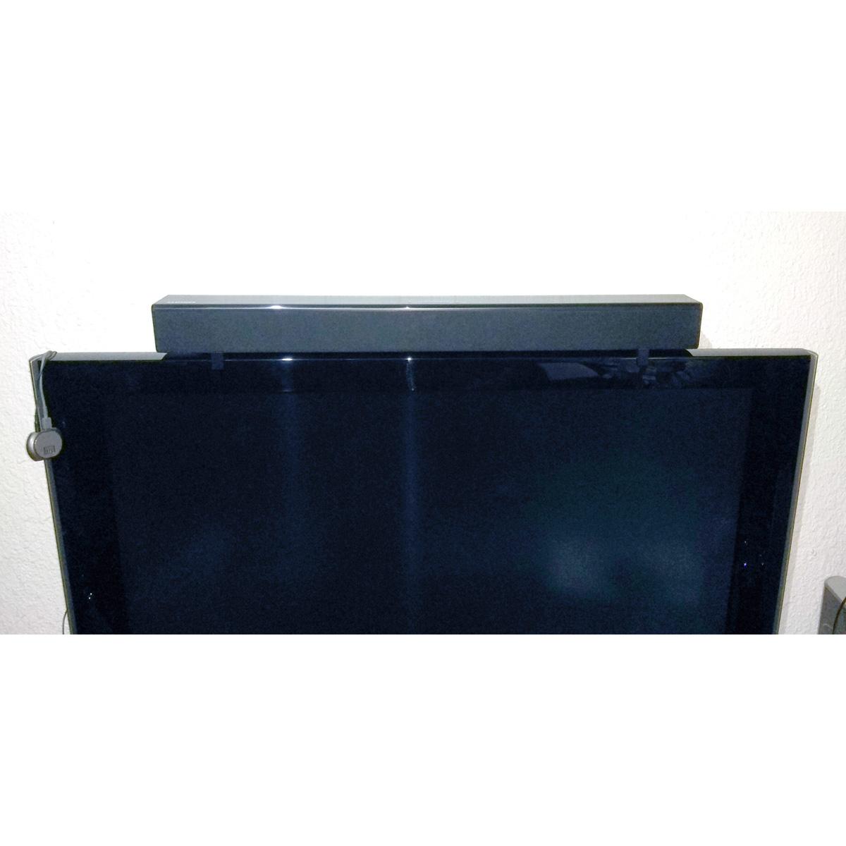 Soundbar_4.jpg Download free STL file Samsung Soundbar Holders (for Samsung TV) • 3D printing object, HowardB