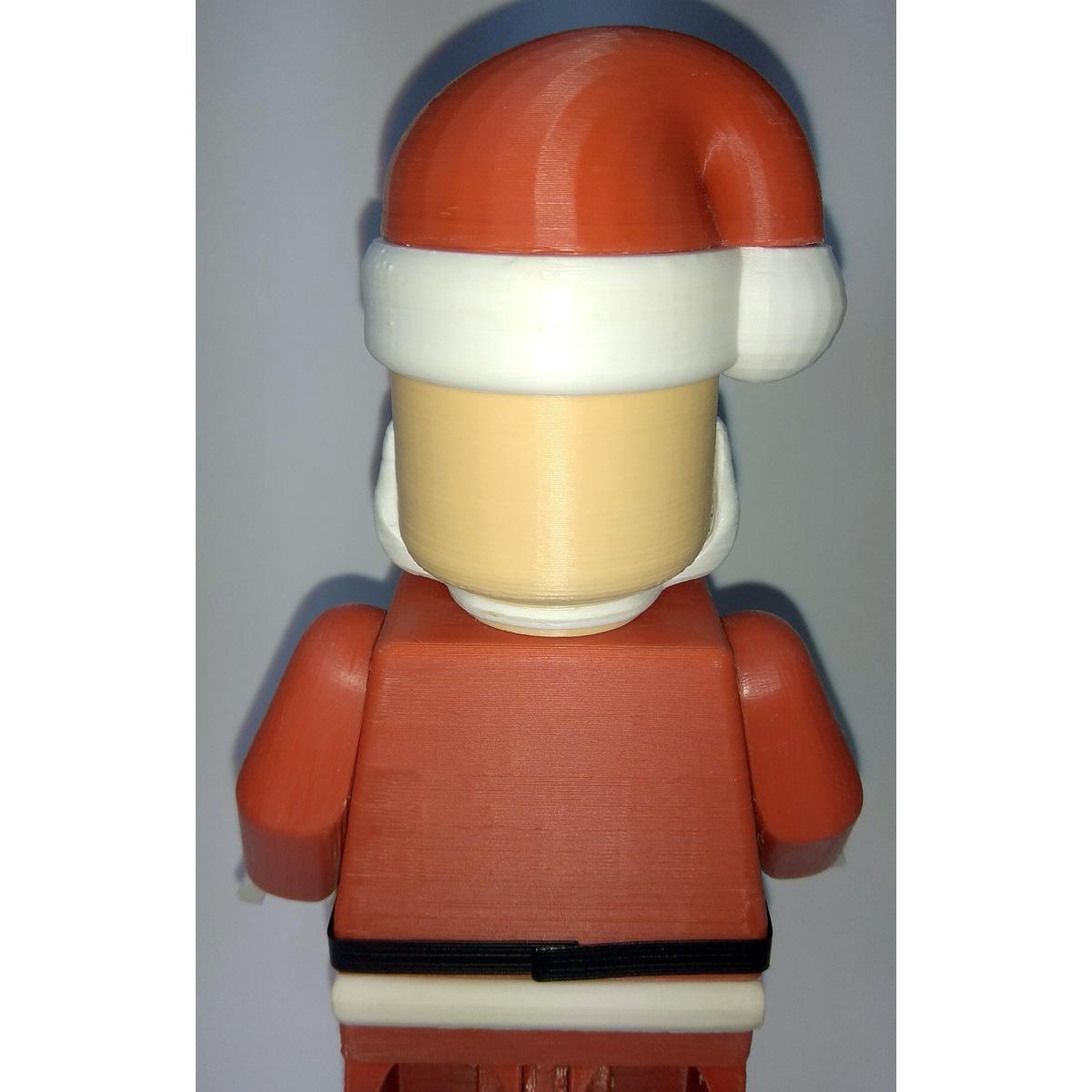 Lego_Minifig_-_Santa_Clause_7.jpg Télécharger fichier STL gratuit Noël géant - Père Noël • Modèle à imprimer en 3D, HowardB
